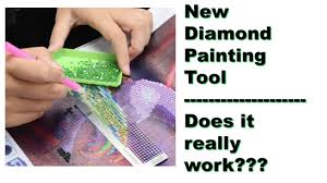New <b>Diamond Painting Tool</b> ~ Does It Really Work - YouTube