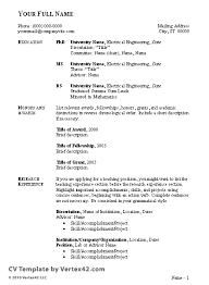 Example CV      Geography graduate soymujer co