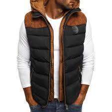 <b>ZOGAA</b> Winter Coat Vests Men Warm Sleeveless Jacket Casual ...