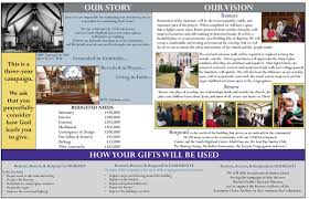 south highland presbyterian church brochures vision brochure 2