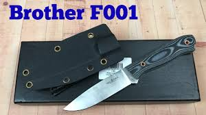 Brother F001Fixed <b>Blade Knife</b> from GearBest Just a great value ...