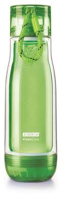 Купить <b>Колба стеклянная</b> Zoku <b>475 мл</b> зеленая по низкой цене с ...