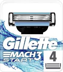 <b>Gillette Mach3</b> Start Сменные Кассеты Для Бритвы, 4 шт — купить ...