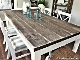 Farm Table Dining Room Set 1000 Images About Long Dining Tables On Pinterest Kitchen Tables