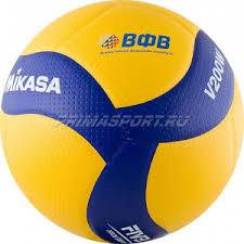 <b>Mikasa V200W Мяч волейбольный</b> (цвет Желтый, Синий) в ...