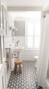 bathroom white tiles: tile black and white for shower floor bathroom with white subway tile and patterned encaustic