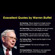 Warren Buffet quotes about earning, spending, saving, taking risk ... via Relatably.com