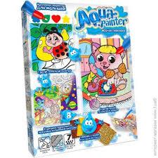 ᐈ Купить <b>DANKO TOYS Aqua</b> painter-<b>раскраска</b> (AQP-01-02U ...