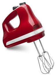 com kitchenaid khmer speed ultra power hand mixer com kitchenaid khm512er 5 speed ultra power hand mixer empire red kitchen dining