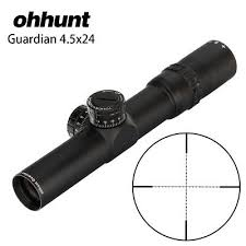 <b>Ohhunt 4.5X24 Compact</b> Rifle Scopes Mil Dot Turrets Reset ...