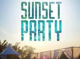 Resultado de imagem para sunset PARTY