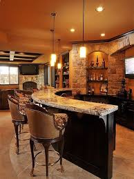 1000 Ideas About Rustic Basement Bar On Pinterest  Industrial Decor Kitchen Decor And Bars  E