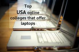 Top USA Online Colleges That Offer Laptops