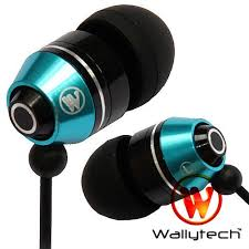 Wallytech WEA 106 <b>Stereo High quality metal</b> Earphone 3.5 mm In ...