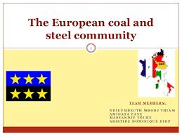 「European Coal and Steel Community」の画像検索結果