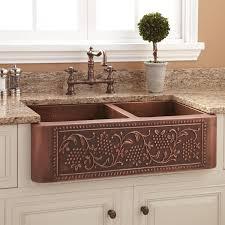 original white copper farmhouse sink original white apron kitchen sink kitchen sinks alcove