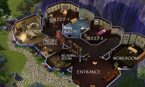 Awesome bilbo baggins house plans images   A Hobbit    s Hole     Awesome bilbo baggins house plans images   A Hobbit    s Hole   Pinterest   Bilbo Baggins  Hobbit Hole and Hobbit
