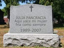 Resultado de imagen de cementerios humor