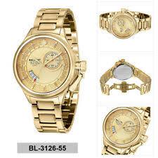 Наручные <b>часы BALLAST</b> из нержавеющей стали с золотым ...