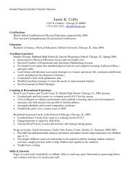 resume cover letter for physical education teacher resume maker resume cover letter for physical education teacher physical education teachers cover letter example example resume for