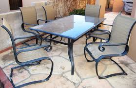 patio table and 6 chairs: patio table plexiglass replacement patio table for