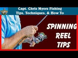 How to Use a <b>Spinning Reel</b> for <b>Fishing</b> - YouTube