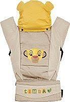 Эрго-<b>рюкзак Polini Kids Disney</b> Baby Король Лев с вышивкой ...