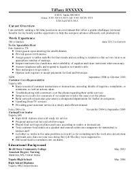 customer service resume examples  amp  samples   livecareertiffany r    customer service representative resume   tupelo  mississippi