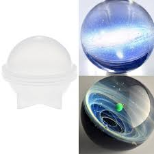 <b>5 Sizes Silicone</b> Ball Maker Mold Round Sphere Mould DIY Resin ...