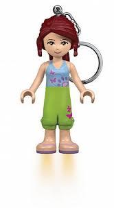 Игрушка лего <b>Брелок</b>-фонарик для ключей <b>Friends</b> - <b>Mia</b>, <b>lego</b> LGL ...