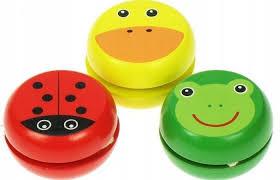 <b>Деревянные</b> красочные <b>йо</b>-<b>йо</b> для детей <b>игрушки Bigjigs</b> купить в ...