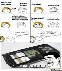 Dual Sim, If You Know What I Mean by recyclebin - Meme Center via Relatably.com