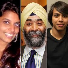 அமெரிக்காவில் சாதனையாளர் விருது பெரும் மூன்று இந்தியர்கள்