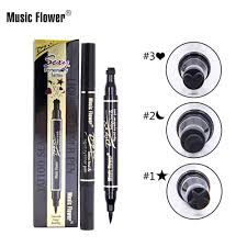 (Ready Stock)<b>Music Flower</b> Tattoo Seal Design Double Head ...