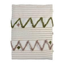 <b>Покрывало</b> из хлопка с бахромой из коллекции <b>Ethnic</b>, 180х250 см