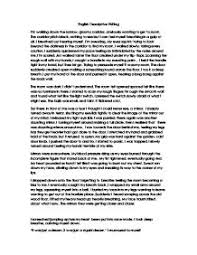 english descriptive writing   gcse english   marked by teachers compage  zoom in