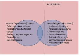 formal and informal organization features advantages and formal and informal organization