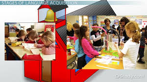 what is language acquisition theories stages video lesson english as a second language in the classroom acquisition development