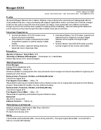 social sciences resume examples  amp  samples   livecareermeagan s    social sciences resume   helena  alabama