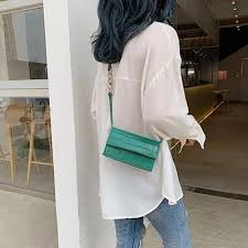 Stone Pattern Crossbody Bags For Women 2019 <b>Small Pu Leather</b> ...