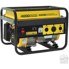 OOOO----- <b>Champion</b> 4000 Watt Portable Generator - 49-State ...
