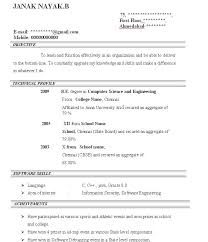 download best resume format for freshers bca resume format    bca