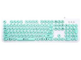 Купить <b>клавиатуру Oklick 400MR White-Mint</b> (USB) по цене от 565 ...