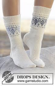 Ravelry: 161-34 Nordic <b>Summer</b> Socks pattern by DROPS design ...