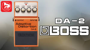 Гитарная <b>педаль BOSS</b> DA-2 - YouTube