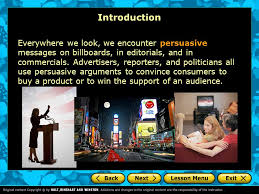 persuasive essay introduction a writer    s checklist choosing an    introduction everywhere we look  we encounter persuasive messages on billboards  in editorials  and