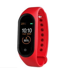 <b>M4 Smart Band</b> Wristband Heart rate/Blood/Pressure/ Smart bracelet ...