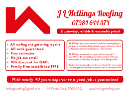 j l hellings roofing has years experience in new malden j l hellings roofing has 40 years experience in new malden motspur park worcester park cheam sutton epsom kingston surbiton thames ditton