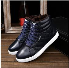 <b>2018</b> New Style <b>Winter Casual</b> Men Boots Lace-up Breathable Flat ...