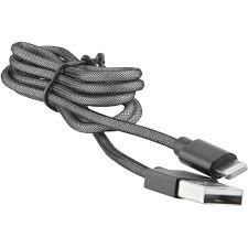 <b>Кабель Red Line</b> USB - Lightning MFI <b>Fishnet</b> черный ...